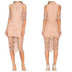 REVOLVE ELLIATT Sight Dress Overlay Bow Lace